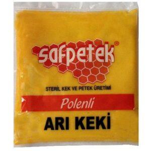 saf petek polenli arı keki 1