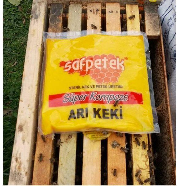 saf petek süper kompoze arı keki 1