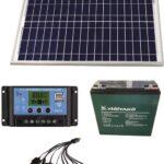 20 watt güneş panelli çit sistemi