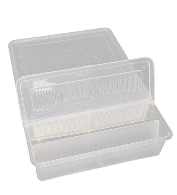 Kutu Yemlik Şeffaf (1,5 Litre)