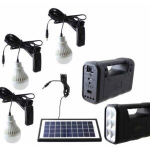 Solar Şarjlı Aydınlatma Sistemi