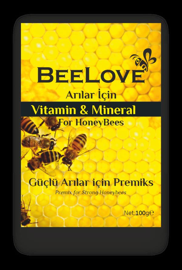 Beelove - Vitamin ve Mineral Premiks (100 Gr)