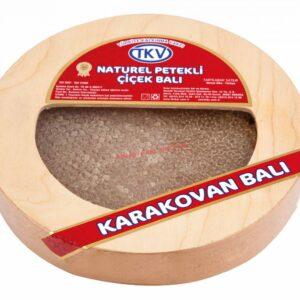 Karakovan Ahşap Bal Kutusu (Yuvarlak)